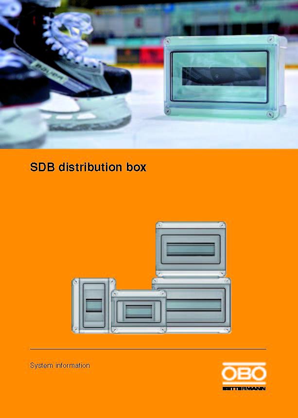 Cajas de Distribución SDB