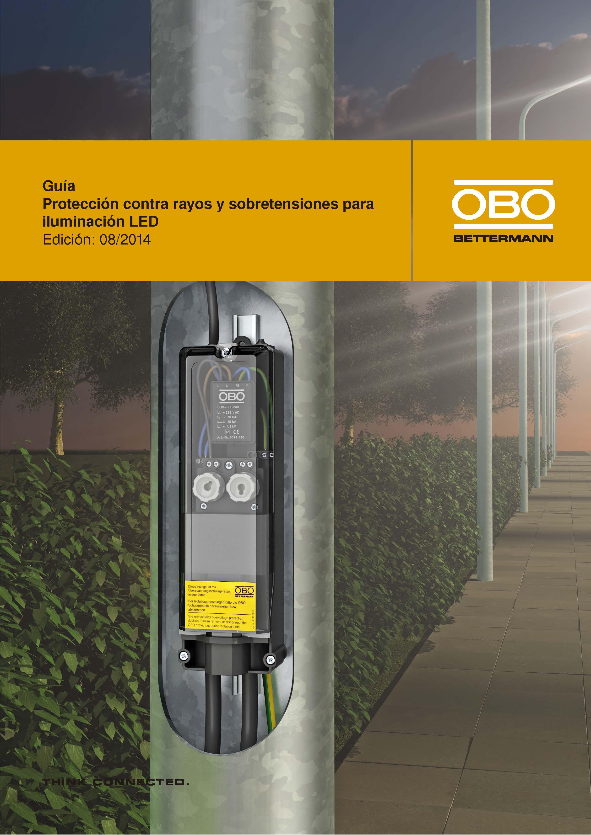 Protección contra Rayos y Sobretensiones para Iluminación LED
